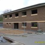 Laceby Business Park Unit under construction, Laceby